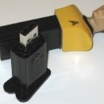 Pendrive y dispensador PEZ de Star Trek