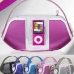 Altavoces a juego con tu iPod Nano