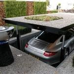 ¿Te gustaría aparcar tu coche debajo de tu jardín?