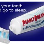 Pasta de dientes para dormir